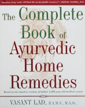 Bild på boken The Complete Book of Ayurvedic Home Remedies