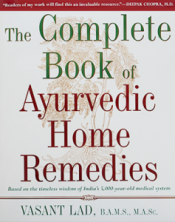 Bild på boken The Complete Book of Ayurvedic Home Remedies